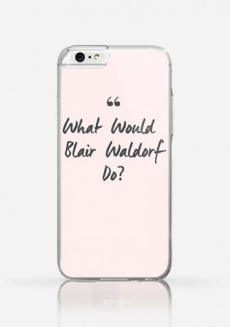 Obudowa WHAT WOULD BLAIR WALDORF DO
