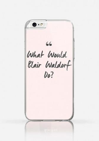 Obudowa WHAT WOULD BLAIR WALDORF DO? Gossip Girl