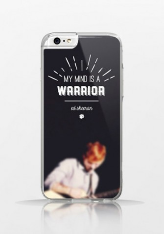 Obudowa MY MIND IS A WARRIOR – Ed Sheeran