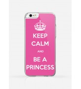 Obudowa KEEP CALM AND BE A PRINCESS