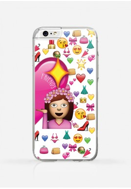 Obudowa BEST FRIENDS - EMOJI (friends)
