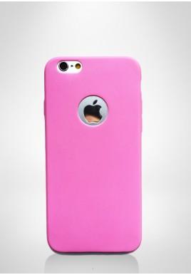 Elastyczna obudowa iPhone różowy