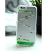 Obudowa 3D - SCHODKI - z płynem w środku - zielony