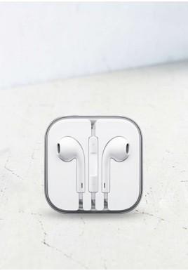 Słuchawki mini jack białe
