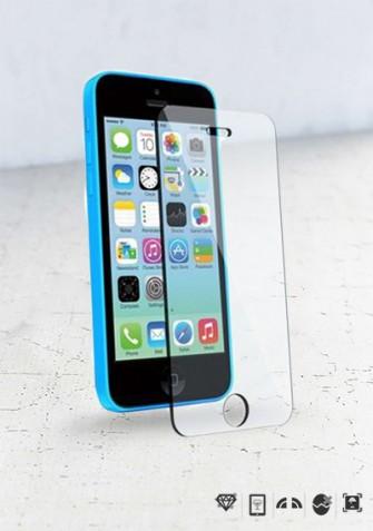Szkło hartowane na wyświetlacz iPhone 5c