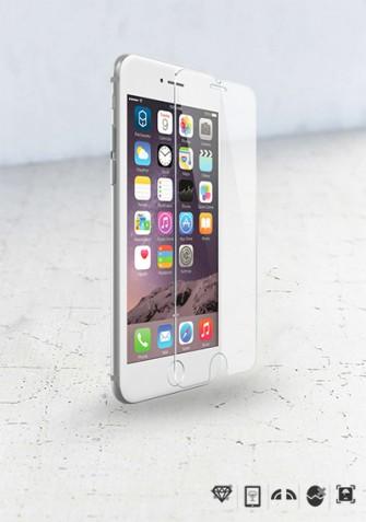 Szkło hartowane na wyświetlacz iPhone 6 Plus