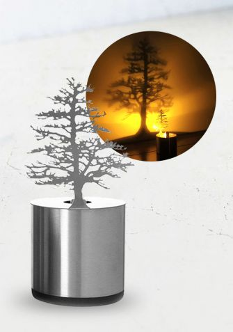Shadow LED - projektor, lampka LED - Sosna