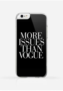 Obudowa MORE ISSUES THAN VOGUE black