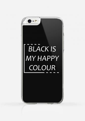 Obudowa BLACK IS MY HAPPY COLOUR