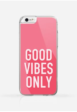 Obudowa GOOD VIBES ONLY PINK