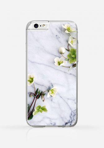 Obudowa MARBLE WITH FLOWER
