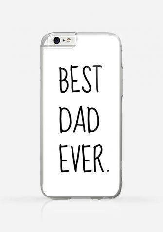 Obudowa BEST DAD EVER WHITE
