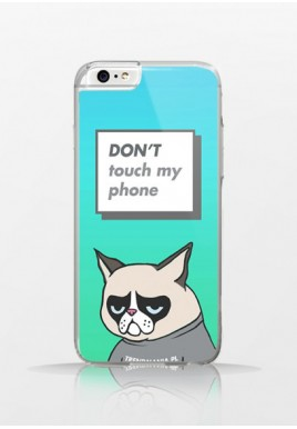 Obudowa DON'T TOUCH MY PHONE! Grumpy Cat