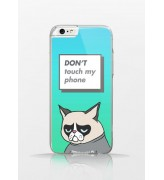 Obudowa DON'T TOUCH MY PHONE! Grumpy Cat