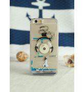 HIT na iPhone 5/6! - Obudowa z płynem i ruchomymi elementami - MUSIC