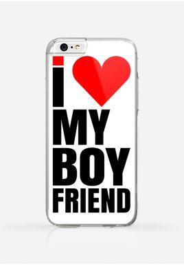 Obudowa I LOVE MY BOYFRIEND