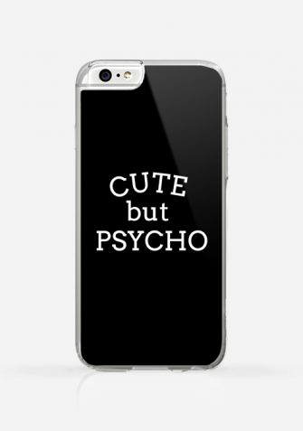 Obudowa CUTE BUT PSYCHO BLACK