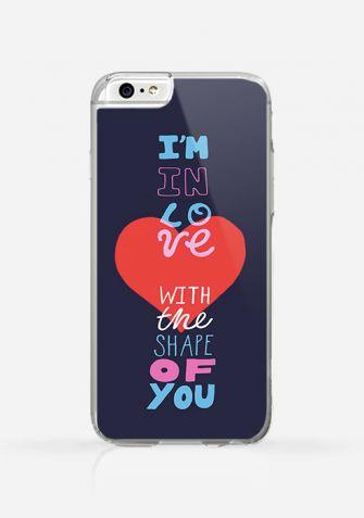 Obudowa I'M IN LOVE WITH THE SHAPE OF YOU - ED SHEERAN
