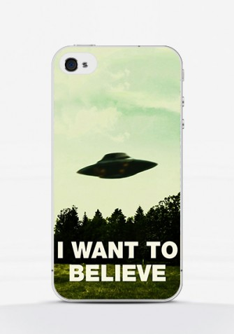 Obudowa I WANT TO BELIEVE