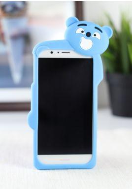 Elastyczna obudowa 3D - Miś Niebieski