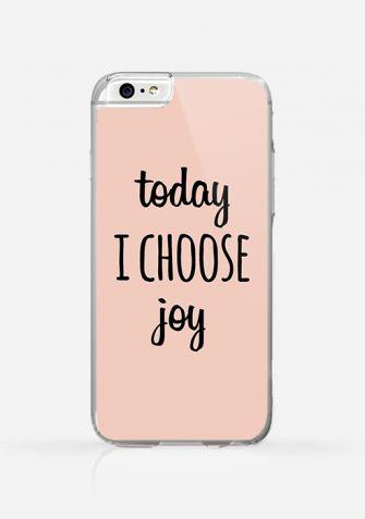 Obudowa TODAY I CHOOSE JOY