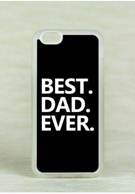 Obudowa Miękka BEST DAD EVER BLACK