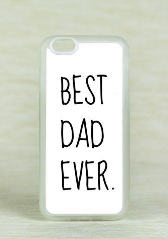 Obudowa Miękka BEST DAD EVER WHITE