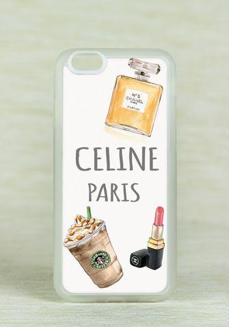 Obudowa Miękka CELINE PARIS