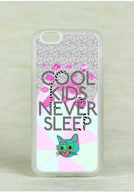 Obudowa Miękka COOL KIDS NEVER SLEEP