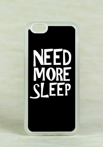 Obudowa Miękka NEED MORE SLEEP