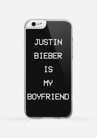 Obudowa JUSTIN BIEBER IS MY BOYFRIEND