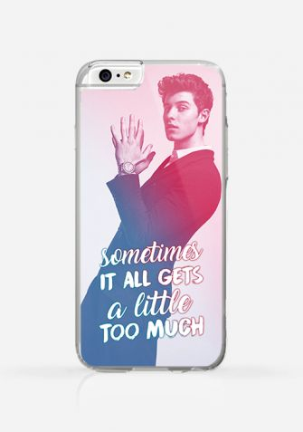 Obudowa SHAWN MENDES - SOMETIMES IT ALL GETS A LITTLE TOO MUCH