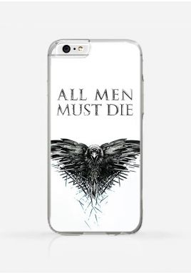 Obudowa ALL MEN MUST DIE - GAME OF THRONES