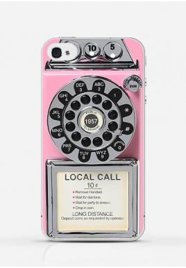 Obudowa Retro Vintage Payphone – pink