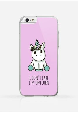 Obudowa I DON'T CARE, I'M UNICORN