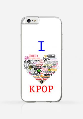 Obudowa I LOVE kPOP