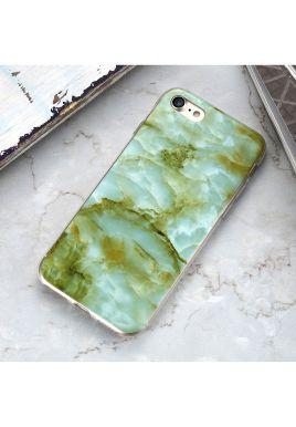 Błyszcząca obudowa iPhone MARMUR Zielony