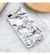 Błyszcząca obudowa iPhone MARMUR Biały