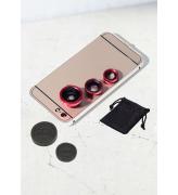 Uniwersalny obiektyw do telefonów - klips 3w1