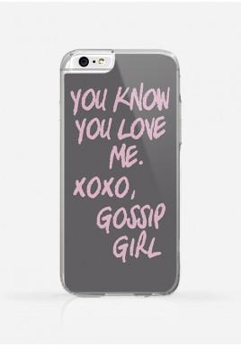 Obudowa XOXO GOSSIP GIRL