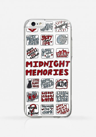 Obudowa MIDNIGHT MEMORIES One Direction