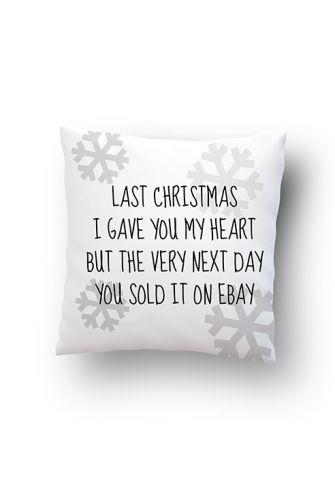 Poduszka - LAST CHRISTMAS