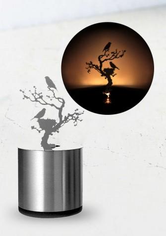 Shadow LED - projektor, lampka LED - Gniazdo