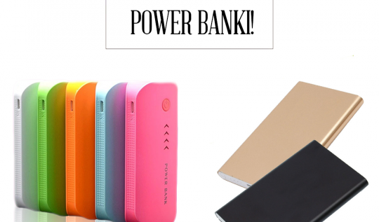power bank z latarką