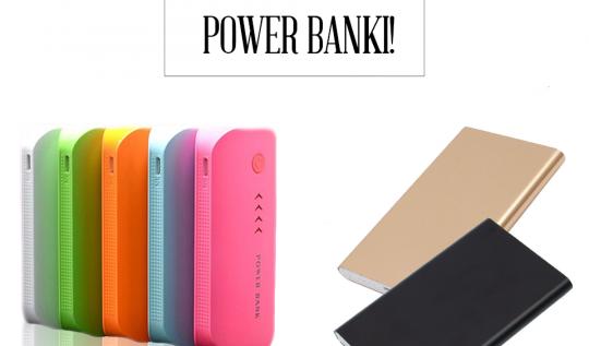 power bank z latarką