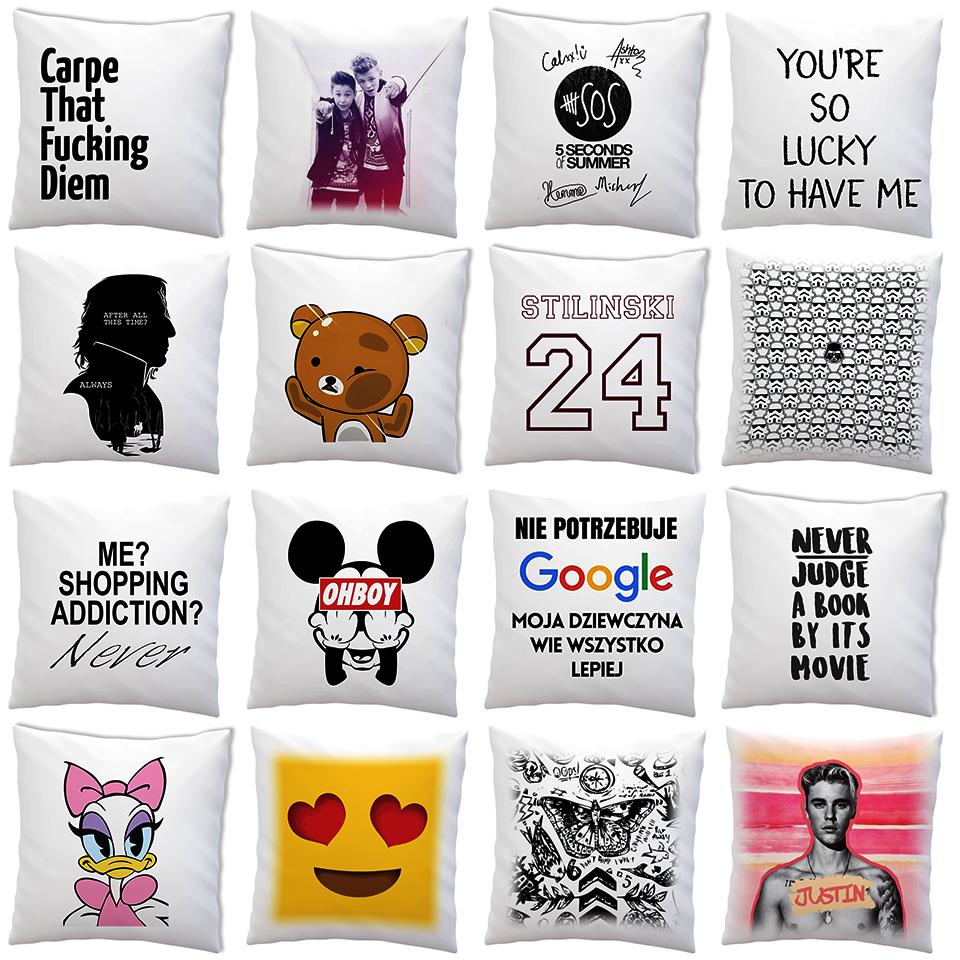poduszki modne wzory