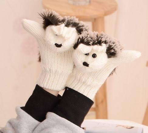 rękawiczki jeżyki