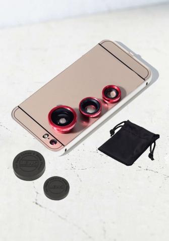 obiektywy fisheye do telefonu, obiektyw szerokokątny do telefonu obiektyw makro do telefonu