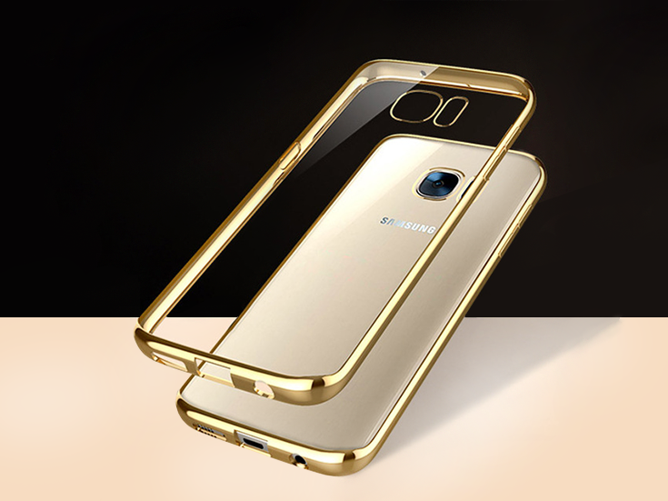 clear case samsung gold