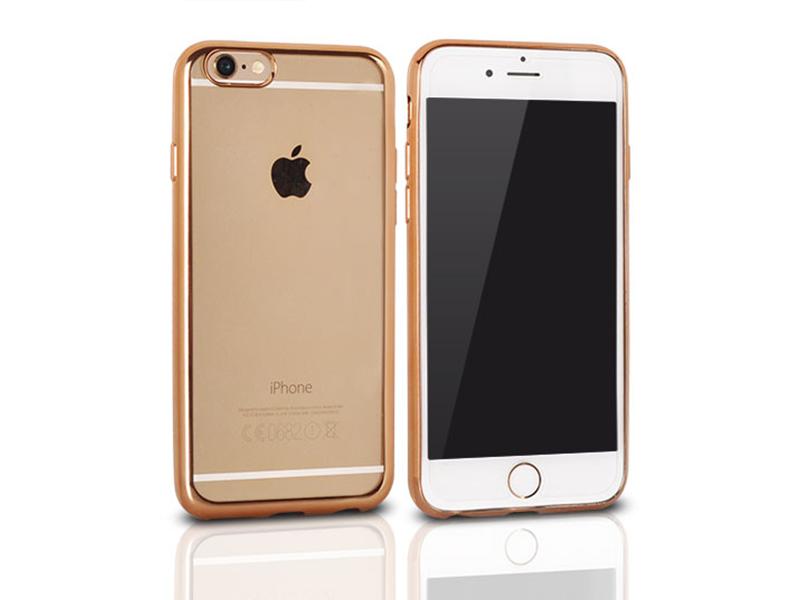 crystal case bumper gold